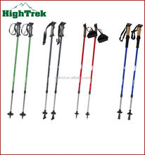 2014 Latest design outdoor sports walking stick with flashlight