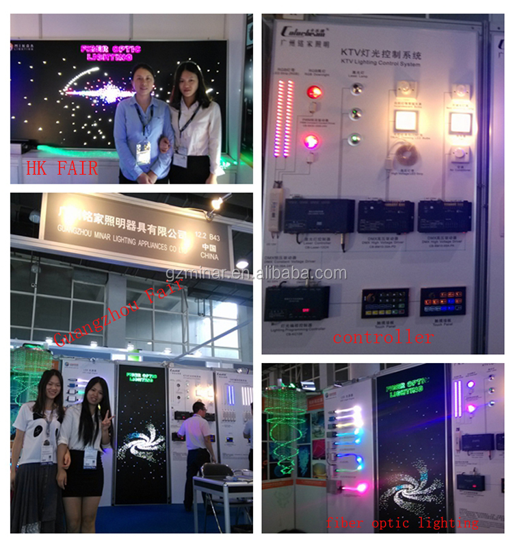 New product 80W led fiber optic light source with DMX