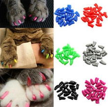 Fashion new cat dog craw nail covers nail caps
