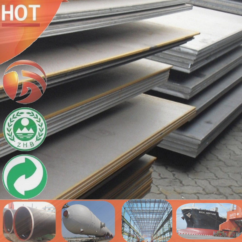 16MnR/16MnDr Standard Sizes steel plate q235b steel properties High Quality hot black steel sheet roll