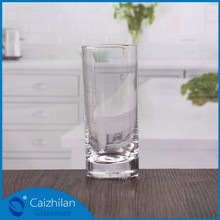 200ml mineral water glass highball glass,milk glass table top