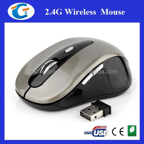 6d key laptop mouse install wireless mouse with 2.4g