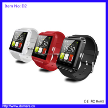Hot Sales Products Bluetooth Smart Watch Fashion Wrist Watch For IPhone Samsung HTC LG Mobile Phone
