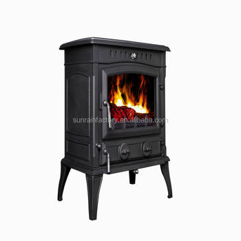 multi-fuel wood burnging cast iron stove