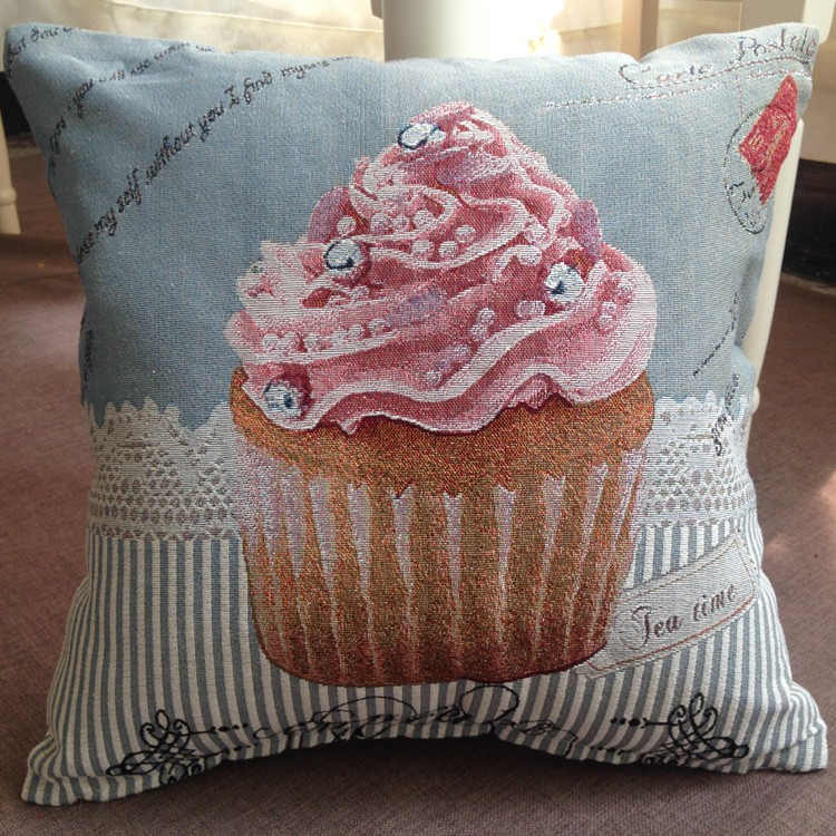 Fashion Design Jacquard Cushion Cover