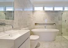 high quality natural stone white marble 24x24 tiles for bathroom