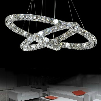 modern k9 crystal led chandelier
