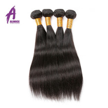 Wholesale Alibaba Express Raw Virgin Unprocessed Straight Virgin Peruvian Human Hair