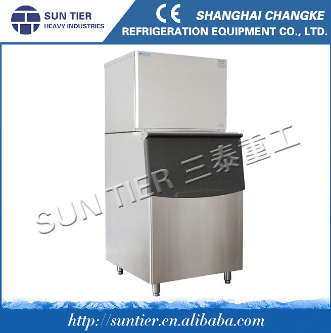 widely used in supermarket preservation, seafood restaurant Cube Ice Machine