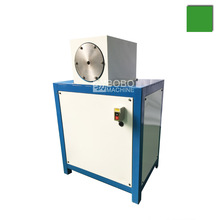 Condenser evaporator steel bundy aluminum copper pipe tube swaging shrinking necking end forming machine.