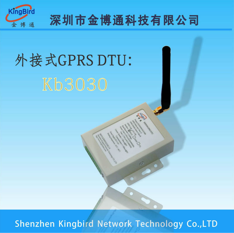 Software supporting! KB3030 Serial Port GPRS Modem(ZTE Module)