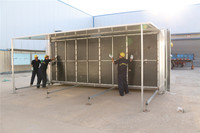 china designs used portable bright modular fold container houses for traveling site