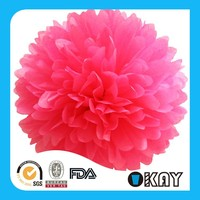 Party Wedding Decoration Tissue Paper Pom Poms