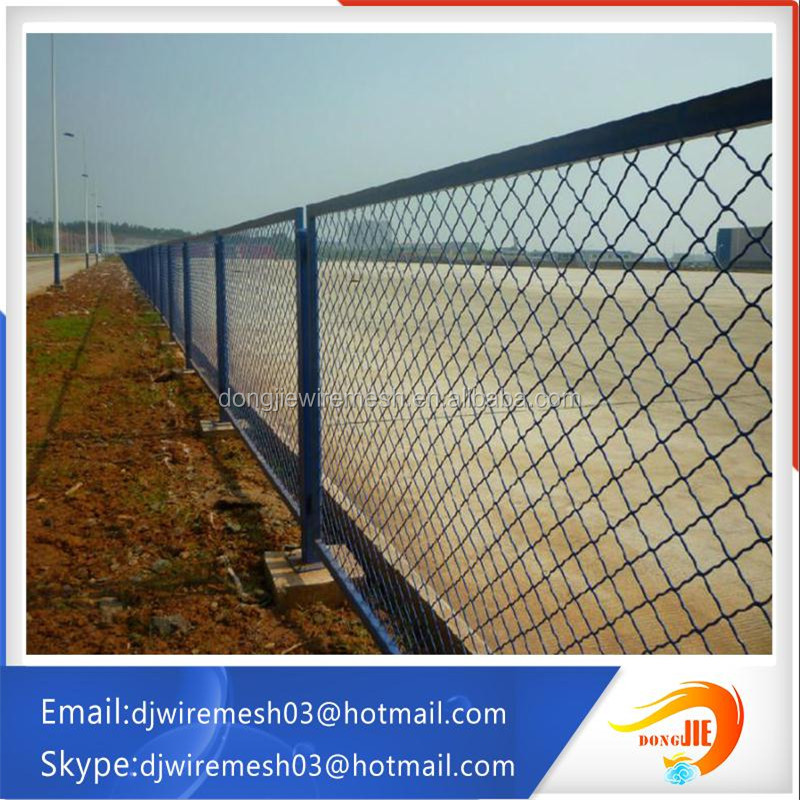 discount !!! beautiful airport fence railway fence /cheap pvc coated chain link fence / grid fence protection fence