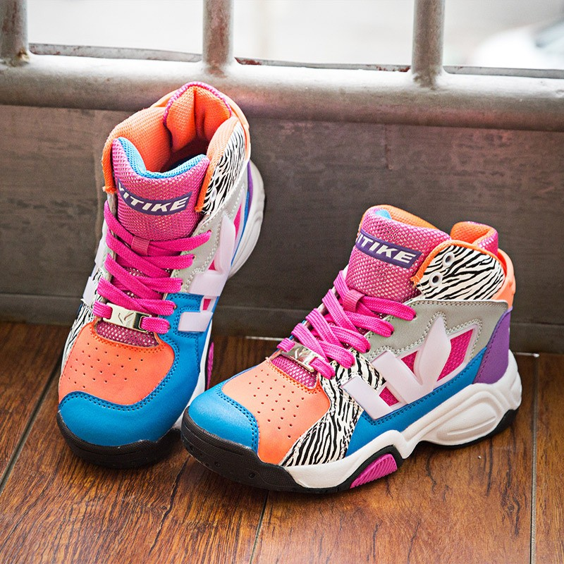 wholesale hot latest children kids sports shoes high cut