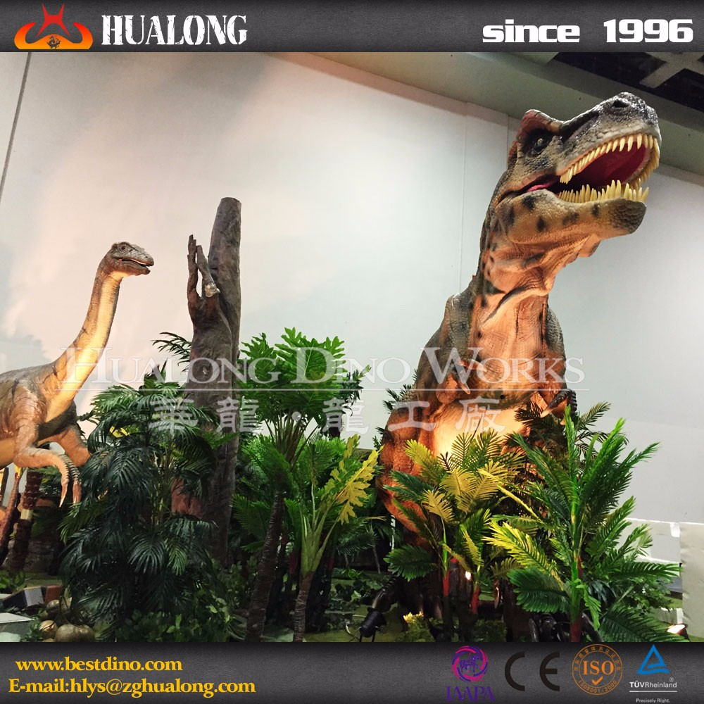 Exihibition Realistic Artificial Dinosaur Model Park Attracctions