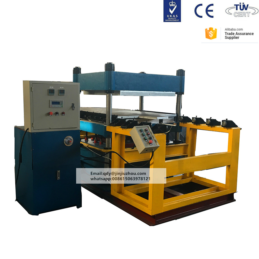 rubber flooring tiles making and vulcanizing press machine XLB-1100*1100 and XLB-550*550*4