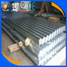 galvanized steel plate / corrugated pvc roofing sheet in Shandong China