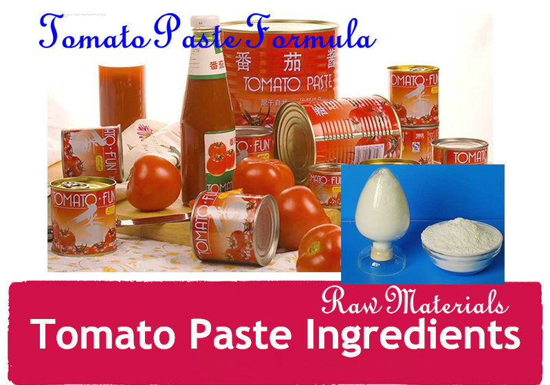 The ingredients of Soy dietary fiber special for tomato paste