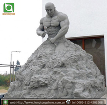 Natural Stone Self made man sculpture