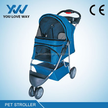 2016 Wholesale folable pet stroller carrier from China pet stroller factory