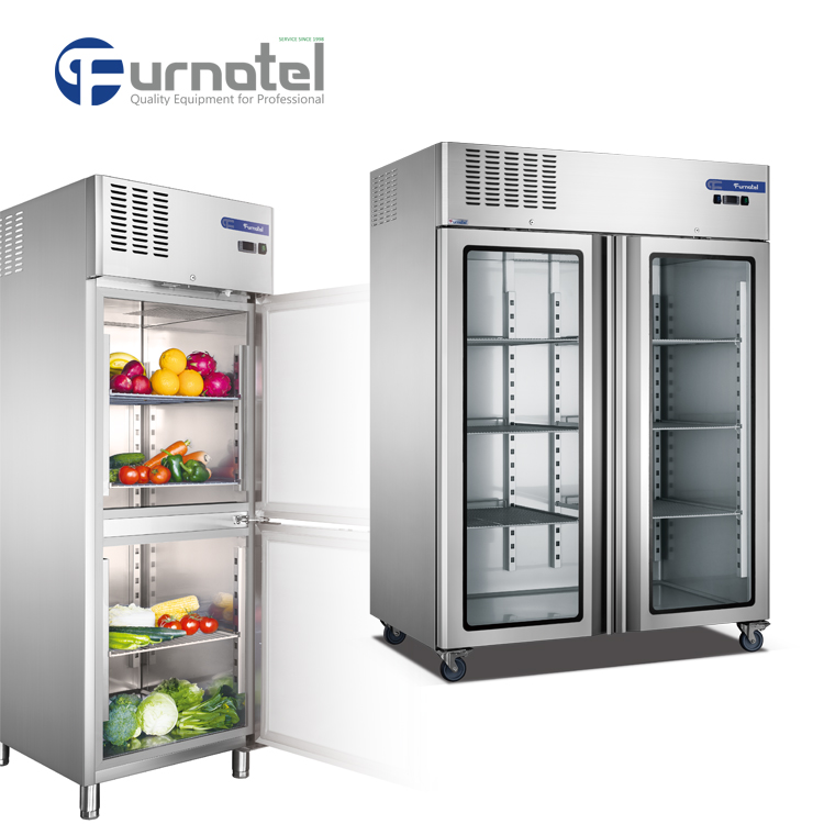 Commercial Kitchen Refrigeration Equipment Furnotel Industrial Glass ...
