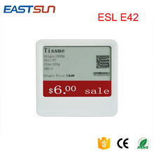 Epaper Wireless Esl System Digital Price label Electronic Shelf Labels For Esl System