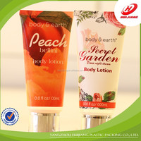 Small Empty round Plastic hand cream packaging tubes