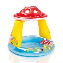 Intex 57114 Plastic Mushroom Baby Swimming Pool inflatable shade baby pool