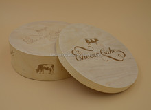 2016 round wood boxes, cheap wood cheese boxes