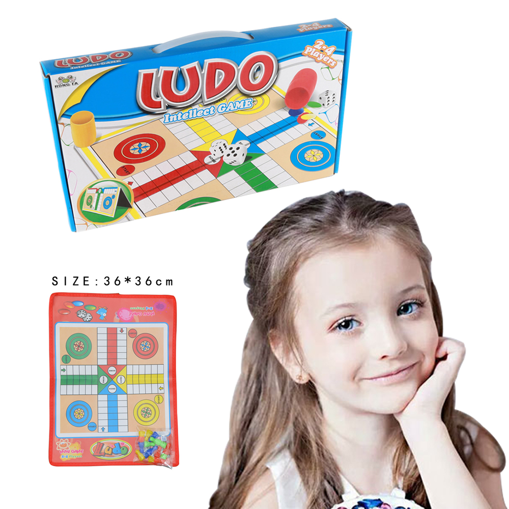 Whosale Paper Board Educational Kid Chess Toys Ludo Game