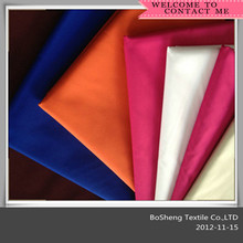 100% polyester pongee fabric/180t 190t textile fabric/dyeing polyester pongee fabric