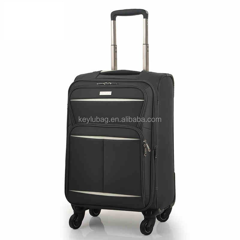 Factory wholesale hot good quality trolly travel suitcase comfortable luggage