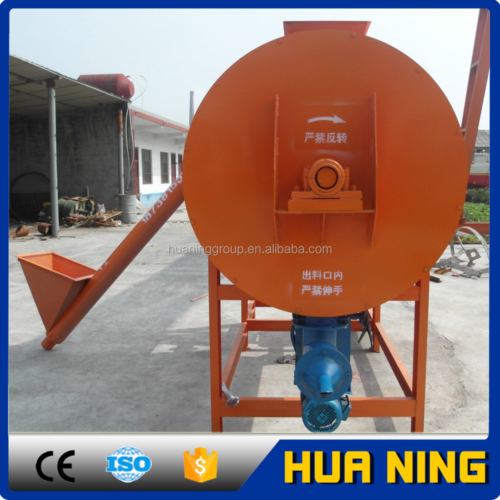 High Efficiency Three Layer Spiral Ribbon Dry Mix Mortar Mixer for sale