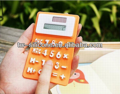 Best Gift 8 digits silicone calculator