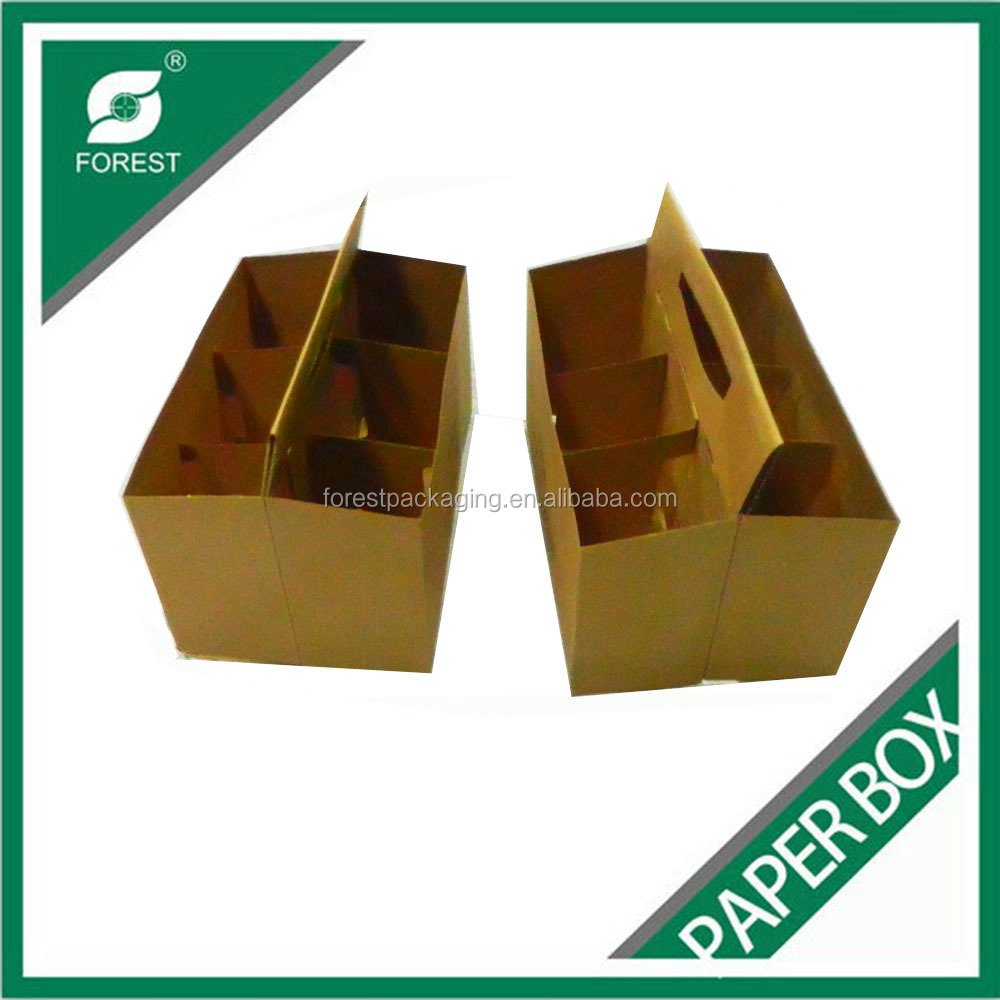 BEER BOTTLE CARTON/6 PACK BOTTLE BEER PACKING CARRIER FR8012183