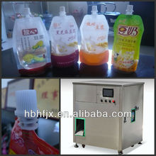 Diet Pepsi stand up pouch/sachet/bag with spout cover doypack filling capping packing machine factory