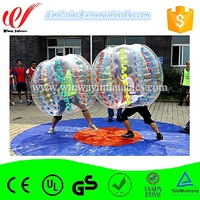1.2m diameter best popular inflatable body zorb bumper ball cheap on sale BW7231