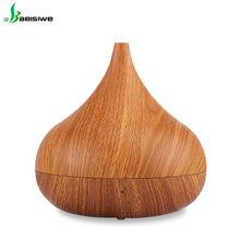 High Safety electric perfume micro bubble electric air freshener wood grain oil diffuser