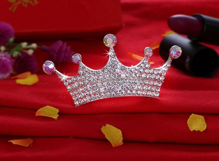 2017 Head Piece Jewelry Hair Accessories For Girls Mini Princess Crown