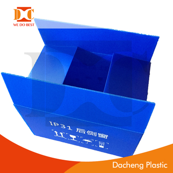 pp recycle material corrugated box