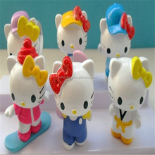 Hellokitty plastic small figurine
