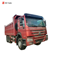 21 - 30T Manual Transmission Type LHD Used Dump Truck For Sales