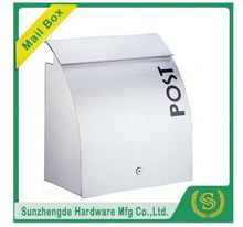 SMB-012SS New Design 6 Doors Powder Coating Coated Apartment Mailbox