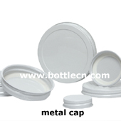38/48/53/58/63/70/89/ screw plastisol lined white metal caps closure