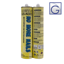 Gorvia GS-Series Item-N305R glue fabric to metal