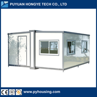 2016 China New Hot Selling Cheap Modular House Prefab Folding Container House