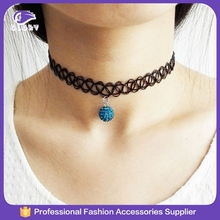 Professional plastic tattoo necklace/vintage stretch tattoo henna choker hippy necklac/vintage tattoo necklace with low price