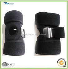 neoprene knee support brace with anti-slip band