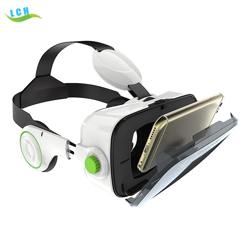 Hot New Arrival! Bobo Vr Z4 Virtual Reality Real headset 3d glasses Movies for SmartPhone with Headphone